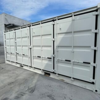 20 ft open side container wit