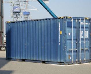 tweedehands 20ft high cube zeecontainer