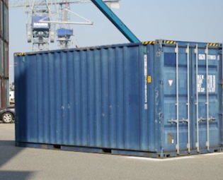 tweedehands 20ft high cube zeecontainer