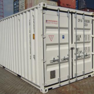 20 ft zeecontainer eerste reis